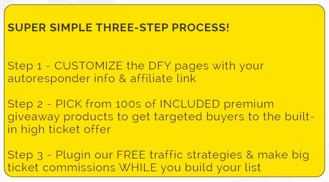 BigTicketCommissions Steps